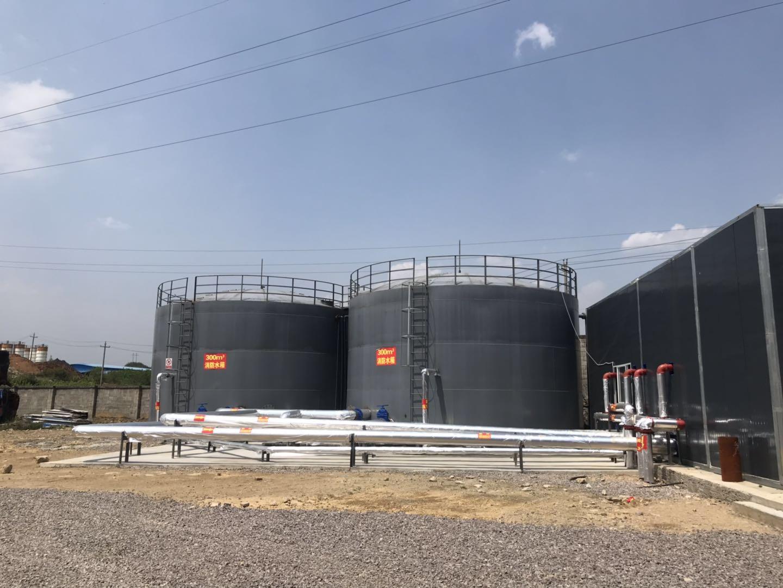 綜合利用廢潤滑油(7萬噸年)及改性瀝青項目消防和防雷接地工程